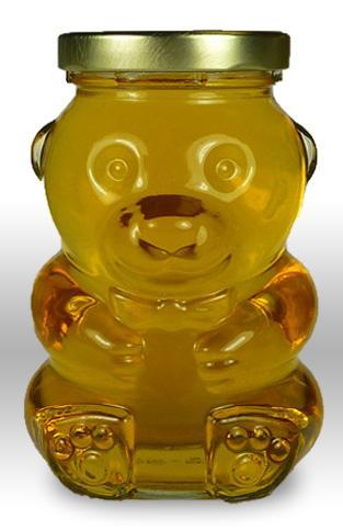 14oz glass bear