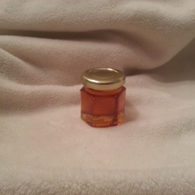 Single Jar of raw honey for Loudoun County Wedding Favors